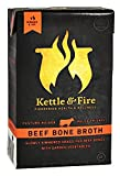 Beef Bone Broth by Kettle & Fire - 100% Grass-fed, Organic, Collagen-rich Bone Broth, 16.9 Ounce
