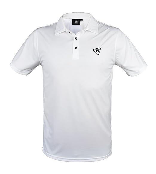 TONY TREVIS Golf Polo para Hombre Blanco: Amazon.es: Deportes y ...