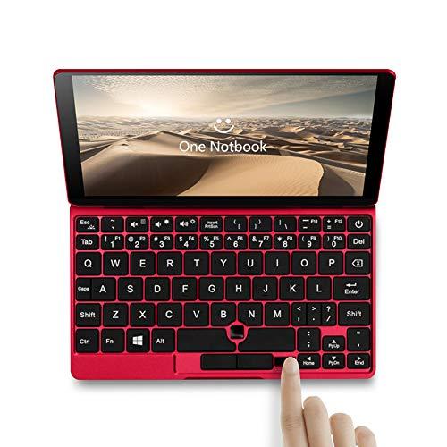 - One Netbook Windows 10 Mini Portable Tablet Pocket PC, Intel 8th Gen. Core M3-8100Y CPU Laptop, 8GB RAM, 512GB PCIE SSD, 7