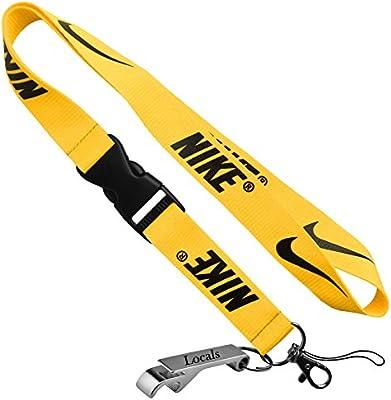 Nike Lanyard Neck Strap for Keys ID Card Holder RED width 20mm length 52cm