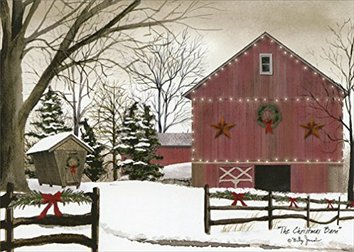 The Christmas Barn - Box of 18 Christmas Cards