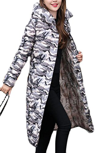 Hooded 15 Long today Winter Overcoat UK Down Warm Cotton Jacket Womens wvTBvqFI