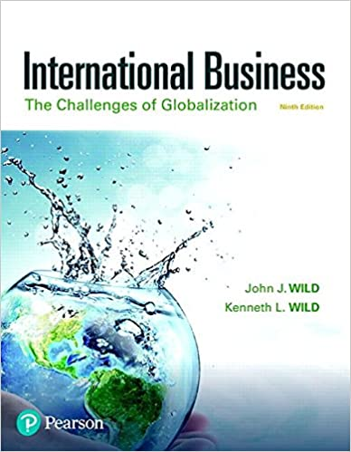 International Business: The Challenges of Globalization (9th Edition
