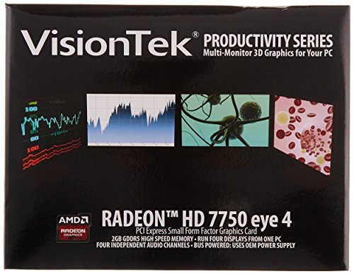 VisionTek Products Radeon 7750 SFF 2GB GDDR5 4M Graphics Card 900798 by VisionTek (Image #5)