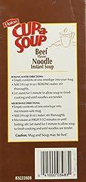 Lipton Beef Noodle Soup 22-count