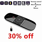 Newest Air Mouse With Keyboard 2.4Ghz Wireless Motion Smart TV Remote Controller Android TV Box Mini Keyboard For Android TV Boxes, PCs, Laptops, Projectors And Smart TVs