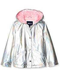 Limited Too Too - Chamarra Impermeable Niña Forro Polar