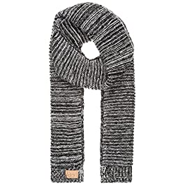 Berydale Women's Knitted Scarf with Cuffs, Two-Tone