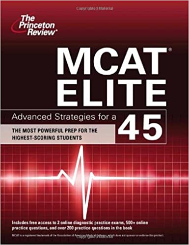 Book MCAT Elite: Advanced Strategies for a 45 (Graduate School Test Preparation) by Princeton Review (2010-06-01)