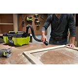 RYOBI 18-Volt ONE+ 3 Gal Project Wet/Dry Vacuum and Blower with Accessory Storage