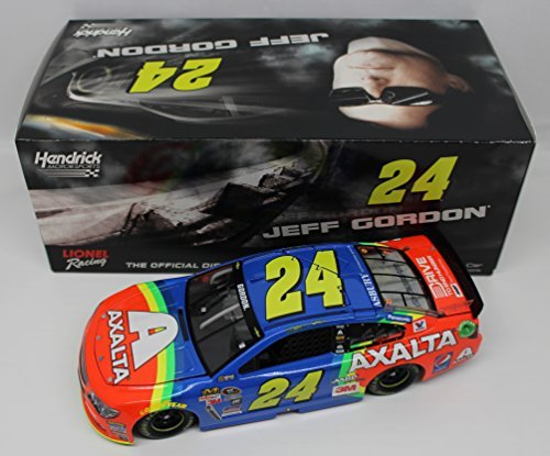 Lionel Racing Jeff Gordon #24 Axalta Rainbow 2015 Chevrolet SS NASCAR Diecast Car (1:24 Scale)