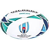 Gilbert Unisex's Rugby World Cup Japan 2019 Replica Ball Multi-Colour, Size 5