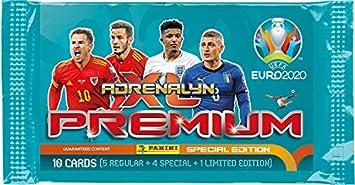 Unbekannt Inconocido Adrenalyn XL Panini UEFA Euro 2020 – 1 x Premium Booster Incluye 1 x Limited Edition Card: Amazon.es: Juguetes y juegos