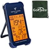 Voice Caddie SC200 Swing Caddie Portable Launch Monitor and Golf Tees Etc Drawstring Shoe/Kit Bag Bundle
