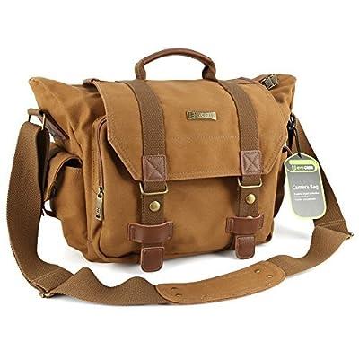 Evecase Camera Messenger Bag - Gray