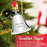 Klikel Bell Ornaments for Christmas Tree - Silver