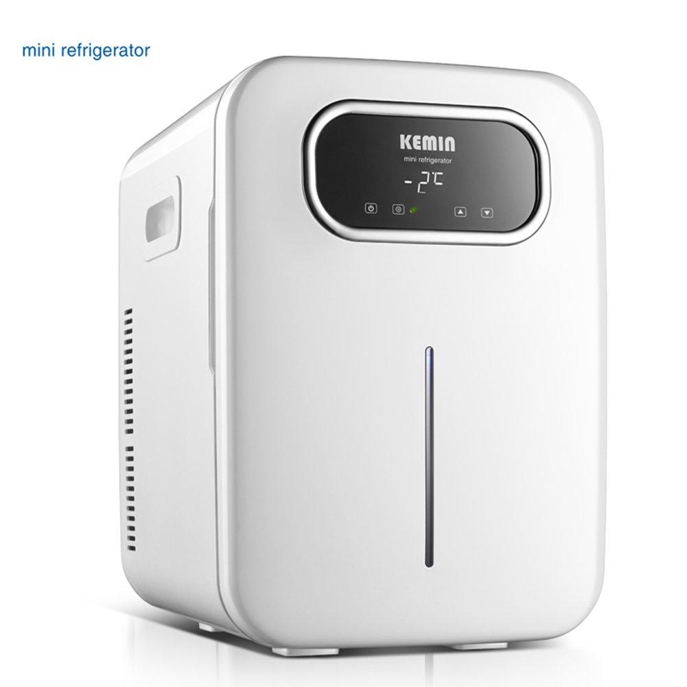 LIQICAI 20L Elektrische Kühlbox Auto und Zuhause Minikühlschrank Erhitze und Kühle Doppelt Verwenden, Intelligente Digitalanzeige Temperatur Einstellbar Dual-Core
