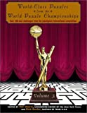 World-Class Puzzles from the World Puzzle Championships, Will Shortz and Nick Baxter, 0812933087