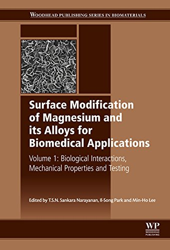 1 Surface Modification Of Magnesium And Its Alloys For Biomedical Applications Biological Interactions Mechanical Properties And Testing Woodhead Publishing Series In Biomaterials [Pdf/ePub] eBook
