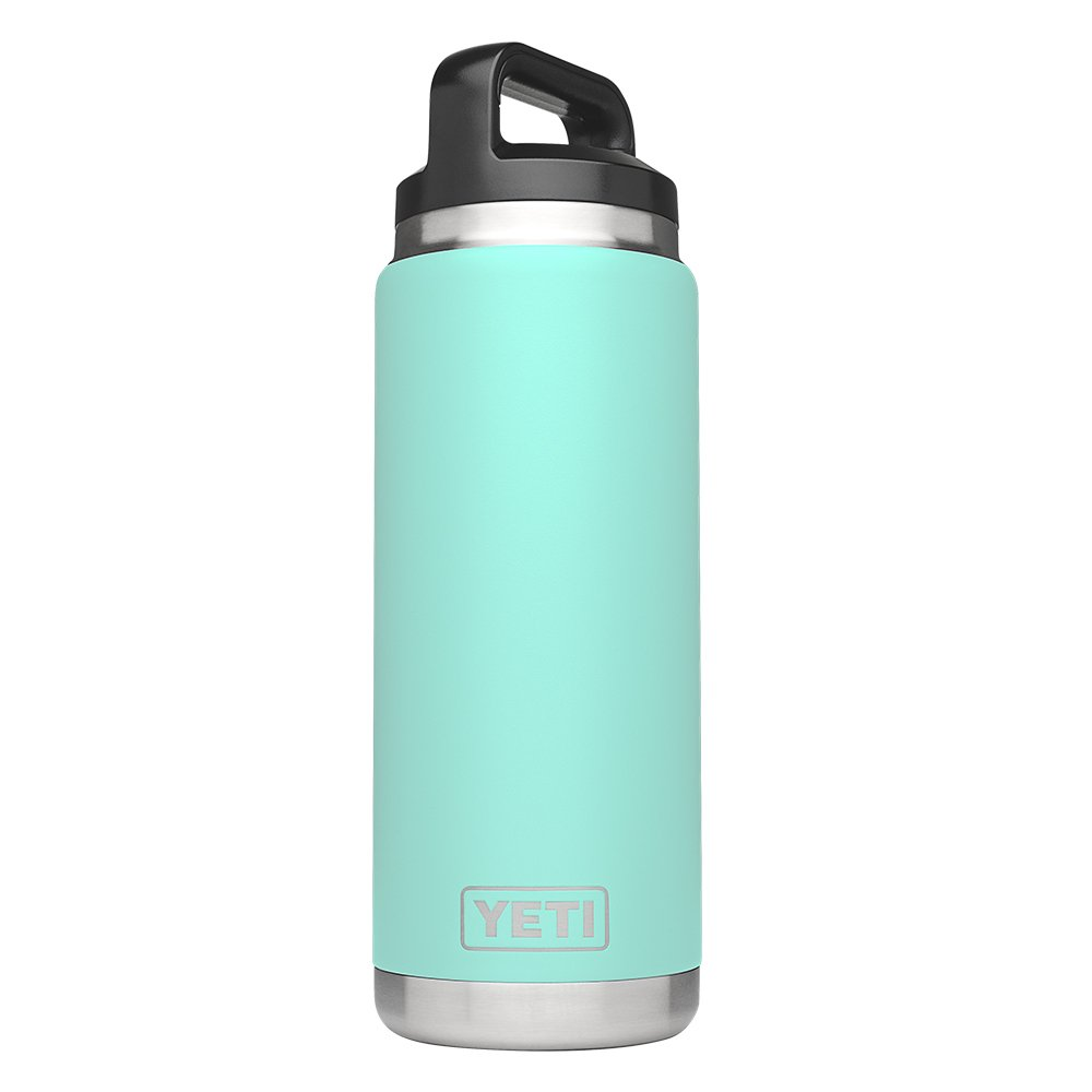 YETI Rambler 26oz Vacuum Insulated Stainless Steel Bottle with Cap, Seafoam DuraCoat by YETI