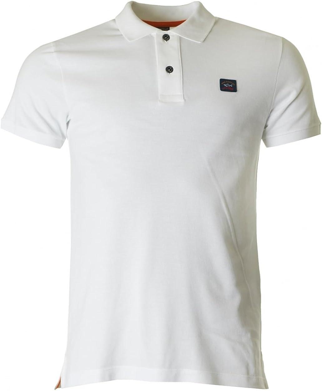 Paul & Shark Camisa Polo de manga corta blanco XX Large: Amazon.es: Ropa y accesorios