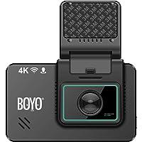 Boyo 4K Dash Cam with Rear-View Cam (VTR419GW)