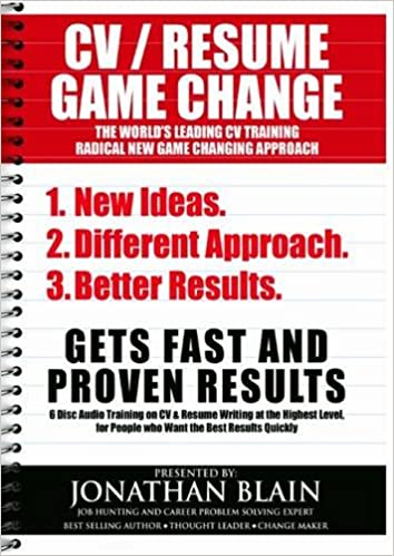 Cv Resume Game Change Audio Programme The Worlds Leading Cv And