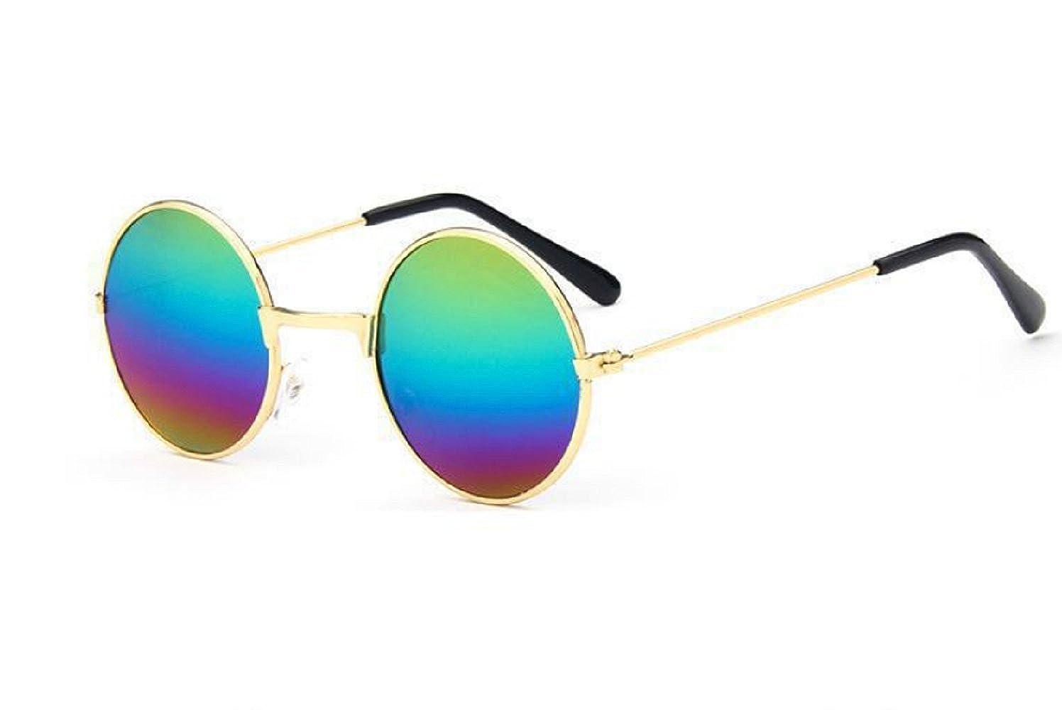(Multicolor) Occhiali da Sole - Hippie Rotondi - Jhon Lennon - Uomo - Unisex - Polarizzati Uv400 - Inception Pro Infinite 8201033353961