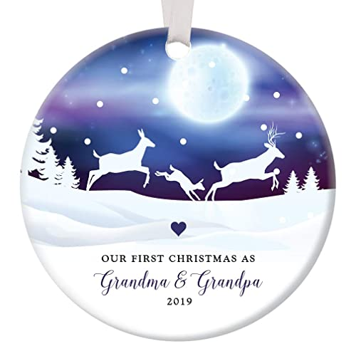 Our First Christmas 2019 Ornament Amazon.com: First Christmas as Grandma & Grandpa 2019 Ornament 1st