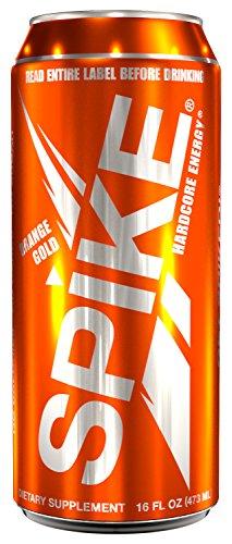 Spike Hardcore Energy Orange Gold – 24 (16 oz)