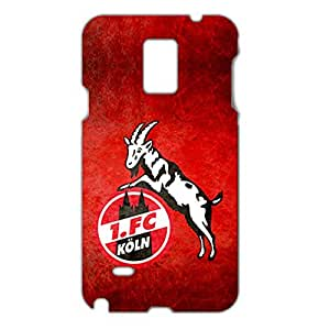 3D 1.FC Koln Collection Football Club Logo Image Hard Black Plastic Ultrathin Phone Cover For Samsung Galaxy Note 4