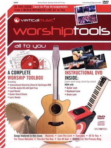 Download Lincoln Brewster - All to You: Vertical Music Worship Tools (Integrity) pdf