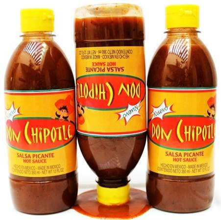 Amazon.com : Don Chipotle Salsa Picante Mexicana (Mexican Hot Sauce) (33 oz) : Grocery & Gourmet Food