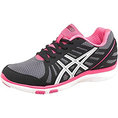 Womens Asics Tiger Womens Gel Ayami Zone Cross Training Fitness Shoes Black  - Black White 6625c2423e