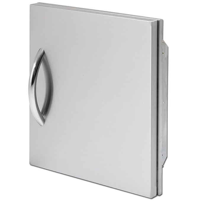 Amazon.com: CAL Flame bbq09841p-18 Vertical para puerta ...