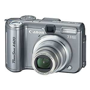 Canon Powershot A620 7.1MP Digital Camera with 4x Optical Zoom