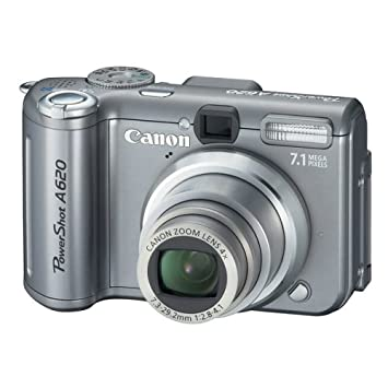 Canon Powershot A620 7 1MP Digital Camera with 4x Optical Zoom