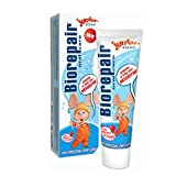 Biorepair: Oral Care Junior - 1.7 fl.oz (50ml) Toothpaste - Pack of 2 [ Italian Import ]