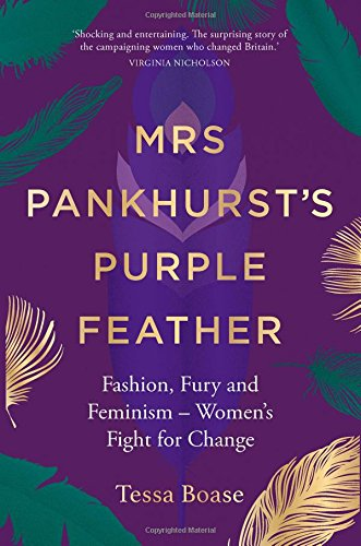 Mrs Pankhurst's Purple Feather: Fashion, Fury and Feminism – Women's Fight for Change (Fight Military Hat)