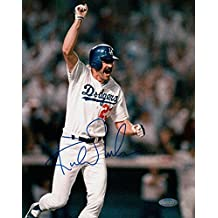Kirk Gibson Signed Autographed 8x10 Photo 1988 Dodgers World Series HR Steiner