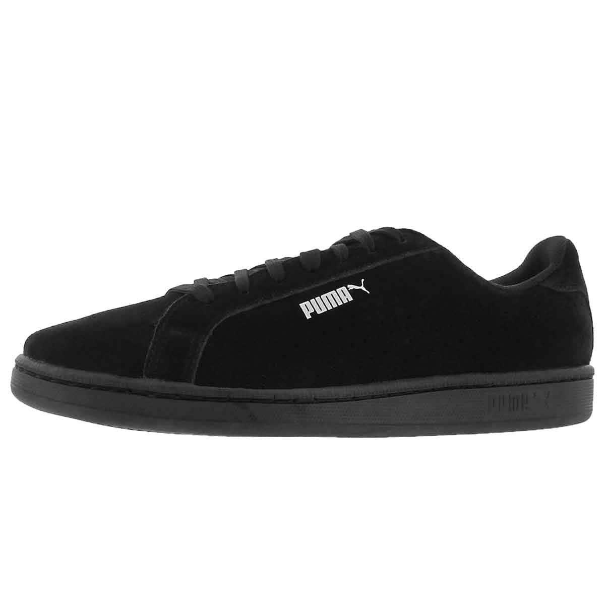PUMA Men's Smash SD Fashion Sneaker (9.5 D(M) US, Black)