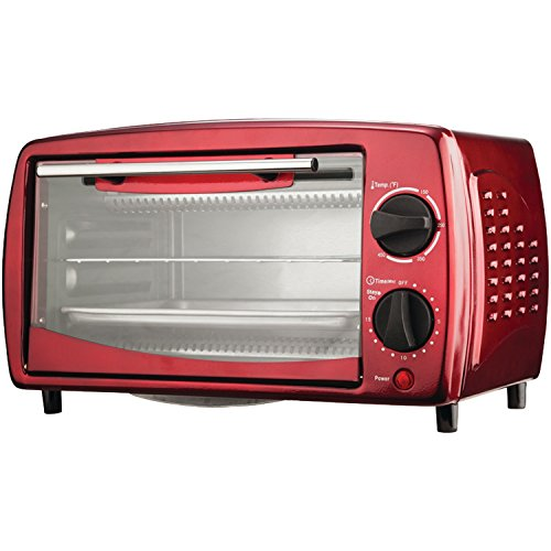 Brentwood TS-345R Toaster 14.5 x 9.5 x 8.5-Inch Red Tone