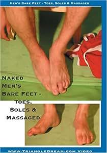 Men's Bare Feet - Toes & Soles Massaged