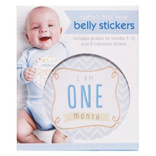 CRG First Year Belly Stickers, Boy C.R. Gibson BBS-13740