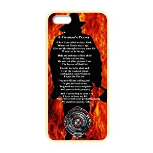Generic Custom Unique Otterbox You deserve-- American Flag Firefighter Emblem in Flames Fire Rescue Symbol Plastic and TPU four Color DeepSkyBlue Violet Darkorange Palegodenrod Case Cover for iPhone5 iPhone5S