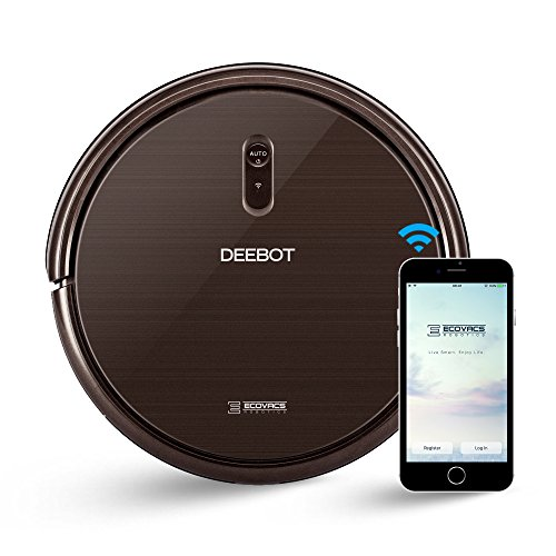 ECOVACS DEEBOT N79S Robot Vacuum Cleaner with Max Power Suction, Alexa Connectivity, App Controls, Self-Charging for Hard Surface Floors &...