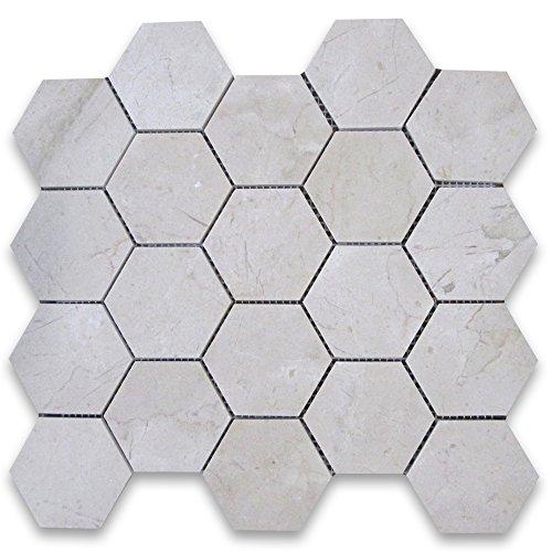 Crema Marfil Tile Flooring - 5
