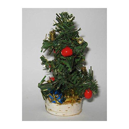 Rulke Rulke040911 Mini Christmas Tree with 4 Pears, 3.5 V, Multi Color ()