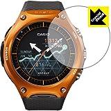 防気泡 フッ素防汚コート 光沢保護フィルム Crystal Shield Smart Outdoor Watch WSD-F10 日本製