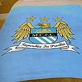 Manchester City FC Fleece Blanket, Blue